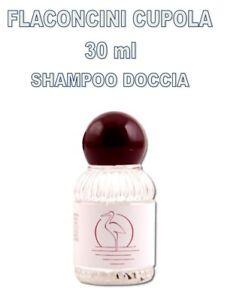 SET CORTESIA SHAMPOO DOCCIA FLACONE 30ML CUPOLA LINEA ALBERGO B&B HOTEL ALBERGHI