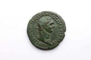 * Domitianus * As - Saluti Augusti S C