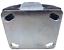 2 x Bockrolle 2 x Lenkrolle Set 260 x 85 mm3.00-4 Luftrad Stahlfelge Silber