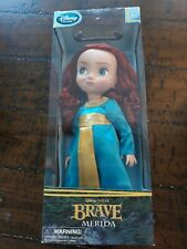 "DISNEY STORE MERIDA BRAVE TODDLER DOLL ~ FIRST EDITION 16/"" ~ BRAND NEW IN BOX"