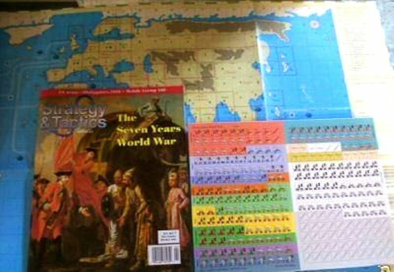 NEW, Strategy & Tactics, S&T The Seven Years World War