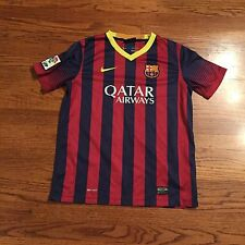 FC BARCELONA Soccer Jersey Kids  SZ XL 13-15 Nike FCB Barca