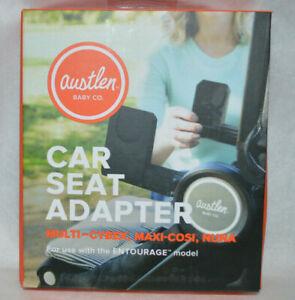Austlen-Entourage-Car-Seat-Adapter-Cybex-Nuna-Maxi-Cosi-New-In-The-Box