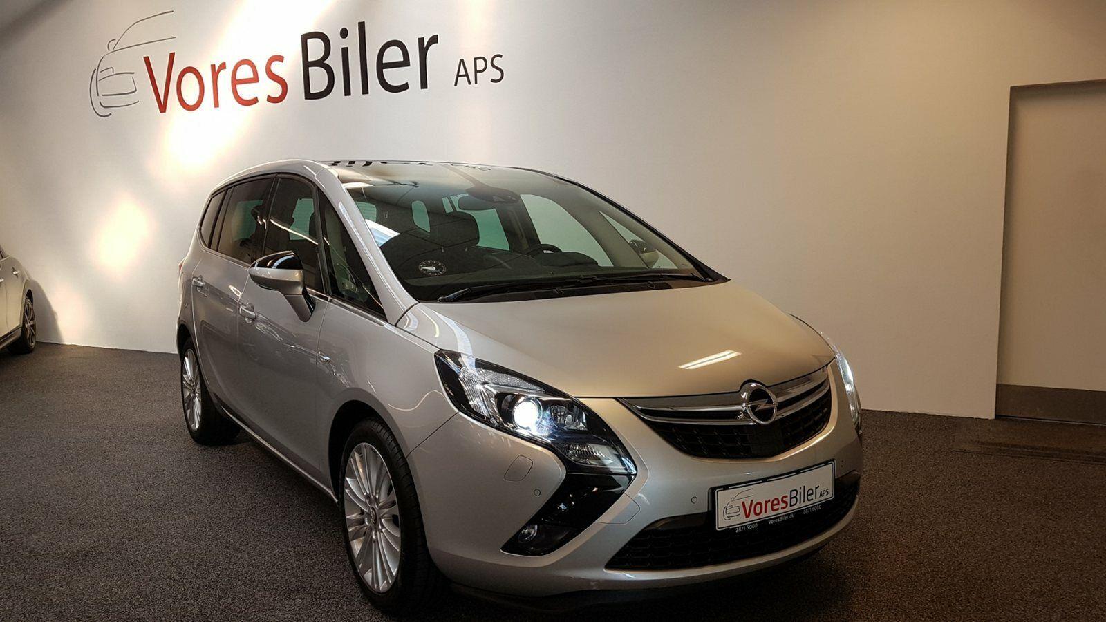Opel Zafira Tourer 2,0 CDTi 165 Cosmo 5d - 199.900 kr.