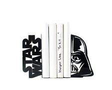 STAR WARS Darth Vader - steel bookends -  7,3x3.7x3,9 inches (18.5x9.5x10 cm)