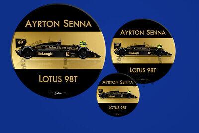 Ayrton Senna Lotus 98T Mug And Coaster Gift Set