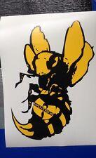 Wu Tang Killer Bee Vinyl Sticker ( Hip Hop, Rap, The Swarm, Cream, Bombatomik )