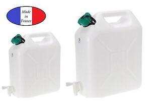 wasserkanister 10l 20l kunststoff mit hahn kanister trinkwasserkanister ebay. Black Bedroom Furniture Sets. Home Design Ideas