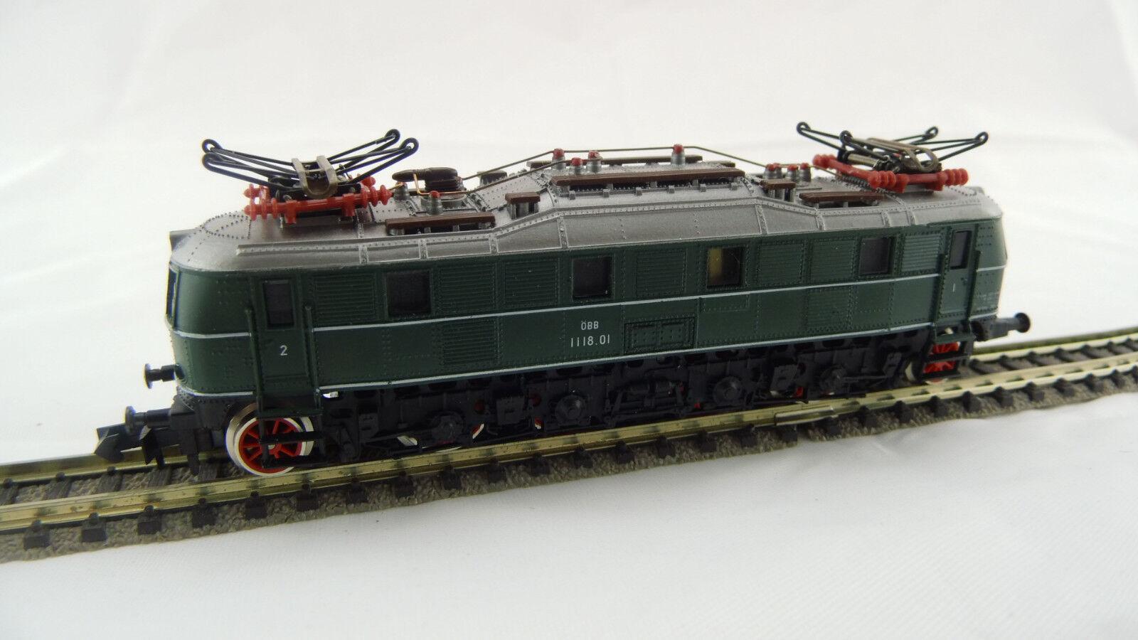 Arnold 2454 elektrolokomotive e 1118 ÖBB n usado buen estado OVP