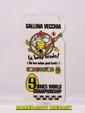 1:12 Pit board pitboards Valentino Rossi 2009 World Champion no minichamps RARE