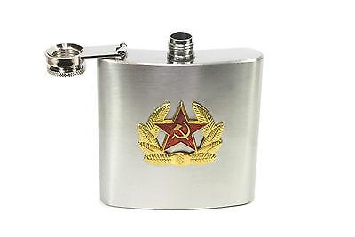 TRINKFLASCHE FLACHMANN FLASCHE UdSSR СССР KALTES KRIEG GESCHENKIDEE SOWJETUNION