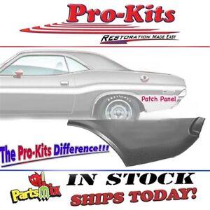 Fits 70 71 72 73 74 Challenger Quarter Panel Lower Left Rear Patch Repair Panel Ebay