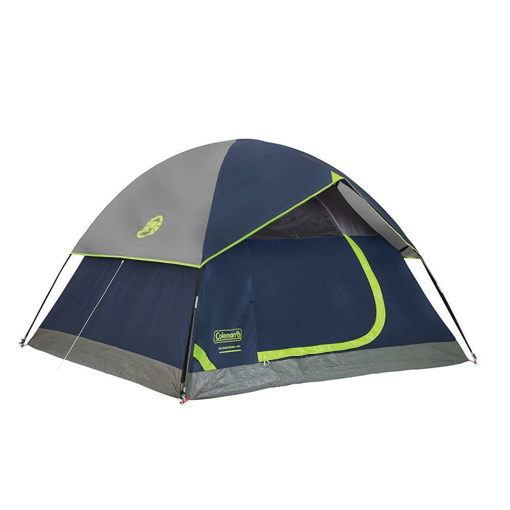 Coleman Dome Tent for  Camping   Sundome with Easy Setup  new listing