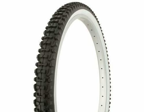 WHITE WALL DIRT /& MUD MTB TIRE WIRE BEAD 1-26x2.10 DURO MOUNTAIN BICYCLE TIRE