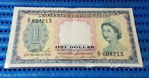 1953-Board-of-Commissioners-of-Currency-Malaya-and-British-Borneo-1-Dollar-Note