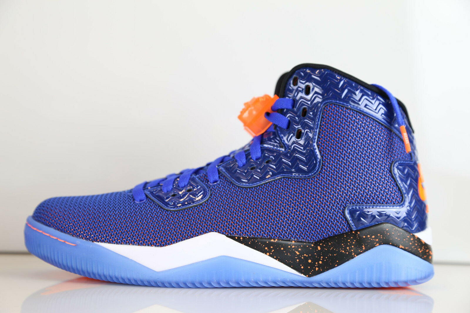 751f3050d03c Nike Air Jordan Jordan Jordan Spike Forty PE Game Royal Orange Knicks  807541-405 7