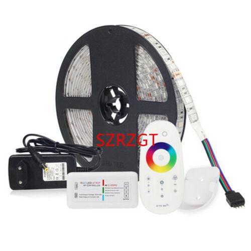 Led strip Kit DC12V  5050 5M RGB RGBW RGBWW CWW+2.4G RF Controller+Power Supply