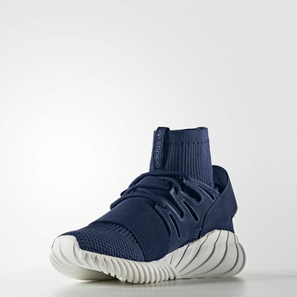 Adidas Tubular Doom PK  Night Marine    S80103   Men's AD Primeknit Navy