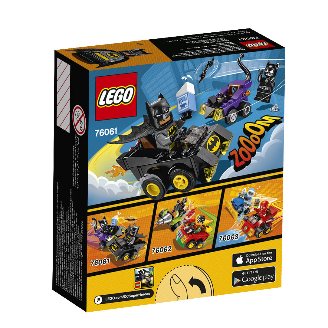 LEGO® DC Comics™ Super Heroes Mighty Mighty Mighty Micros Set 76061+76062 NEU OVP NEW MISB 65055f