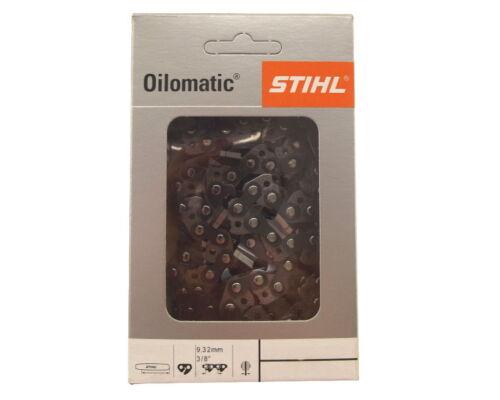 2x38cm Stihl Rapid Super cadena para Makita dcs460 motosierra sierra cadena 3//8 1,5