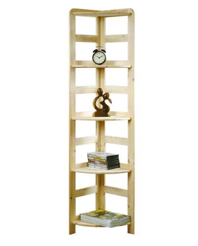 Etagère en bois étagère bibliothèque étagère étagère de bureau étagère de 5 sols 166x33x33 r-11
