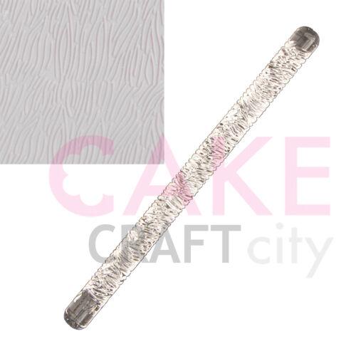 Court Fourrure Texture Gaufrage Acrylique rolling pin sugarcraft décoration de gâteaux