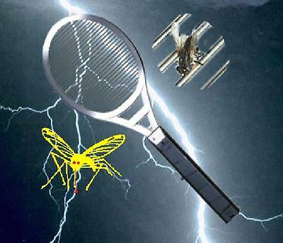 The Jolt Bug Zapper, Fly Swatter,Mosquito Killer Racket