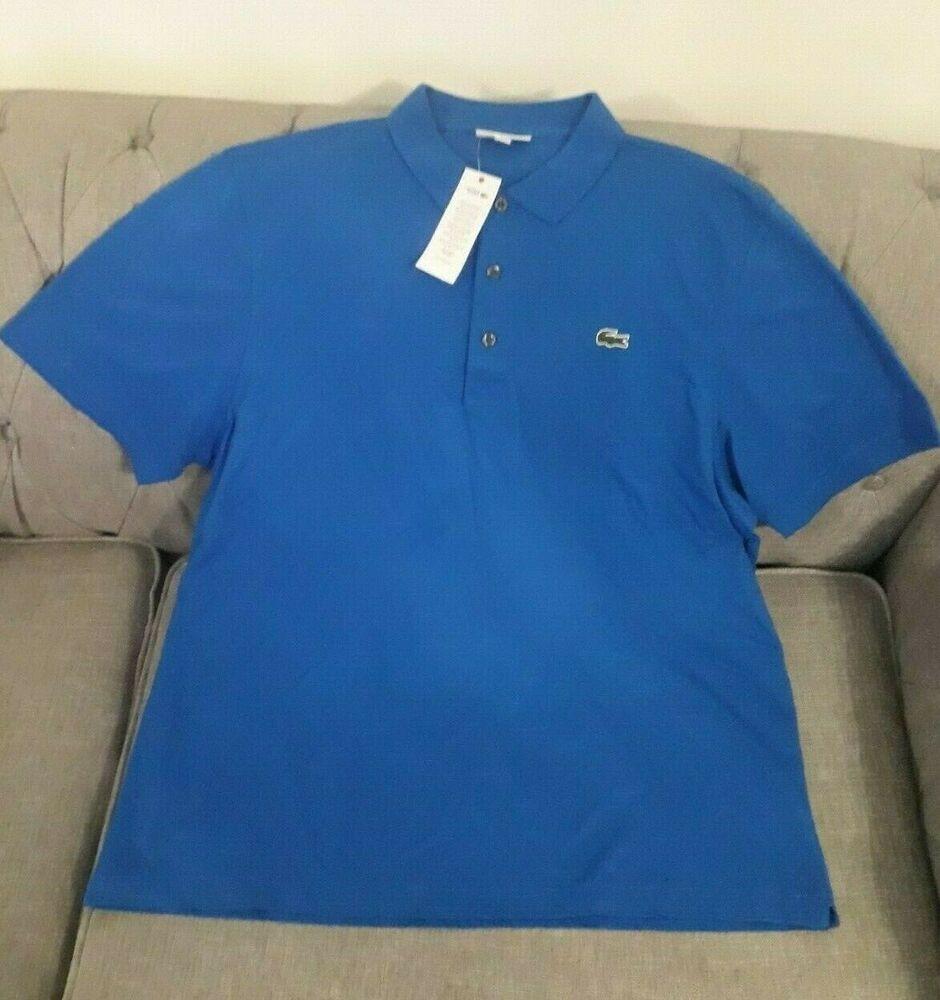 *** Nouveau Lacoste 100% Coton Polo Shirt Taille 3xl