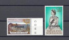 PAPUA NEW GUINEA 1963 44s/55s MNH Cat £90