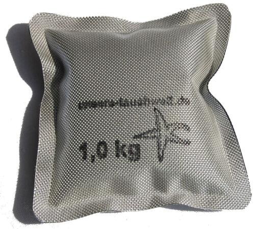 SOFTGewichte 0,5kg  1kg  2kg wie Softblei Tauchen Tauchblei Gewichte zum Tauchen silber