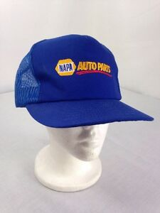 e9407f7c5f6 Image is loading Nascar-NAPA-Auto-Parts-Blue-Baseball-Trucker-Snapback-