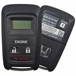 Oem Honda Engine Remote Start Key Keyless Entry Fob Alarm Transmitter Rs13ac Ebay