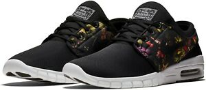 low priced d9f30 36ab2 Image is loading Nike-Stefan-Janoski-Max-Black-Floral-631303-029-