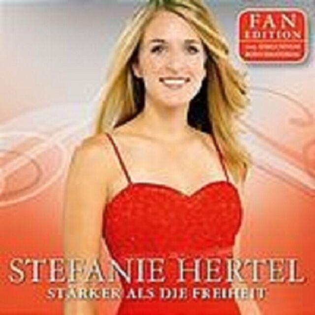 """STEFANIE HERTEL """"STÄRKER ALS DIE..."""" 2 CD FAN EDITION"""