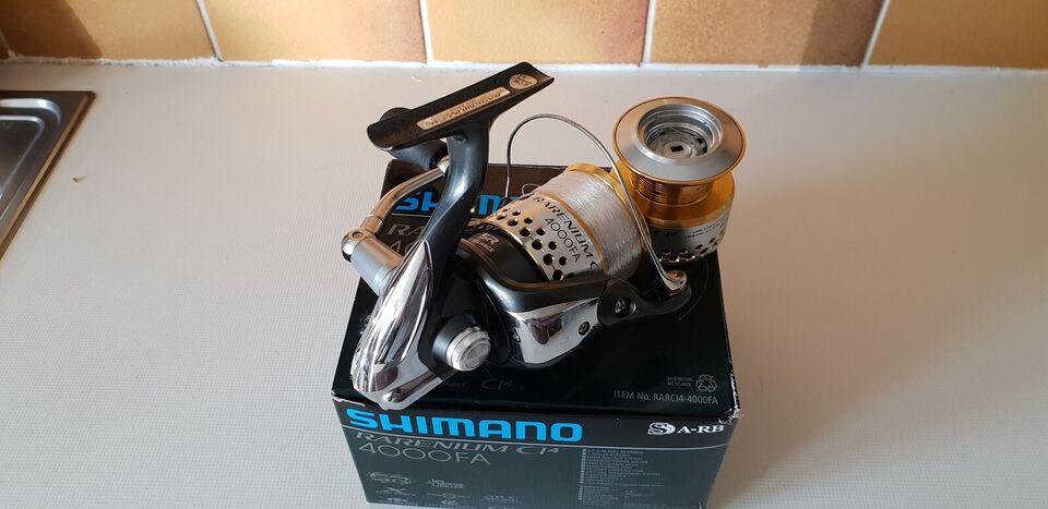 Fastspolehjul, Shimano Rarenium Ci4 4000FD