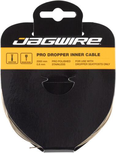 Jagwire Pro compte-gouttes Poli Intérieur Câble 0.8 mm x 2000 mm