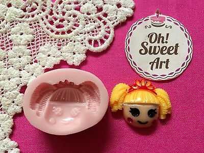 LalaLoopsy Silicone Push Mold Food Safe Cake Decoration Candy Cupcake FDA