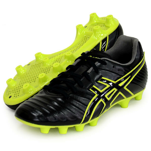 d77bb47c21a ASICS Soccer Shoes Kangaroo Leather DS Light 3 TSI 750 Black 26-29cm From  Japan for sale online