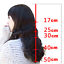 Wavy-Curly-100-Human-Hair-Topper-Hairpiece-Toupee-Top-Piece-For-Women thumbnail 6