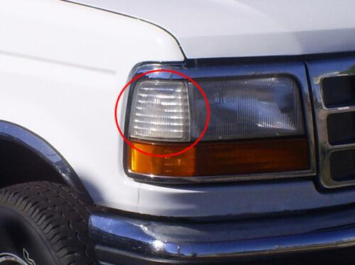 Fits 92-98 Ford Bronco F-150 F-250 F-350 Passenger Right Side Marker Light Lamp