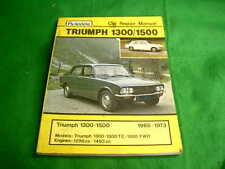 TRIUMPH 1300 1500 1965 - 1973 USED AUTODATA REPAIR MANUAL