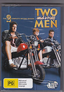 Two-And-A-Half-Men-The-Complete-Second-Season-DVD-Region-4-Brand-New-Sealed