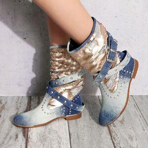 BY-ALINA-Damenstiefel-Jeansstiefel-Jeans-Stiefel-Designerstiefel-35-39-V49