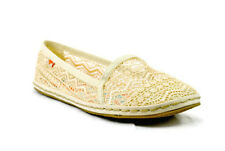 Rocket Dog Wavey Lima Crochet Espadrille Women's Flat Shoes,Natural,New,11M,0122