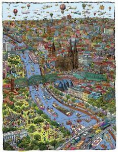 Wimmelbild Köln