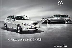 Mercedes-C-Klasse-Limousine-T-Modell-Prospekt-2009-12-09-63-AMG-300-350-180