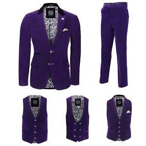 venduti in uomo velluto vintage separatamente blazer da pantaloni pezzi in 3 Pantaloni wFqOBnxv6T