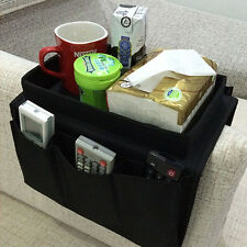 Economic Arm Rest Chair Couch Remote Control Table Top Holder Tray For Tv Dvd