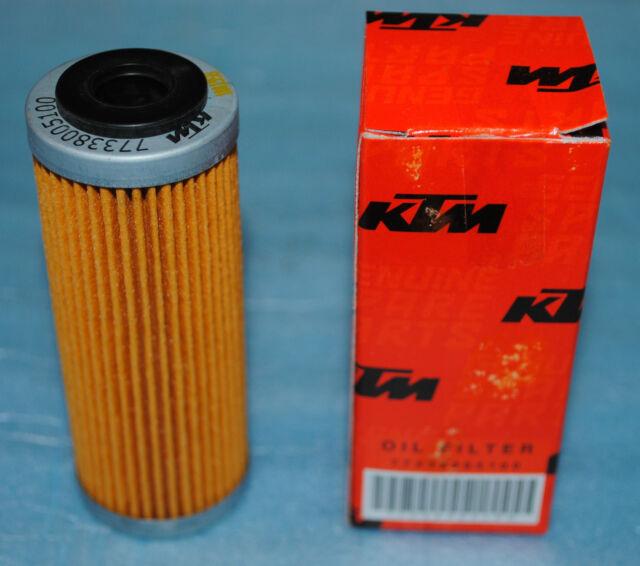 1 Filtro de Aceite KTM 250 350 400 450 500 505 530 EXC SX - F EXC- Exc-R SMR XC