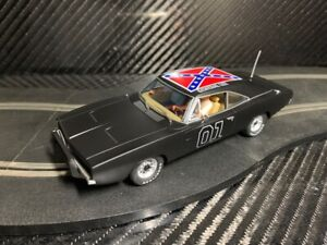 PIONEER SLOT CAR UNBOXED DODGE CHARGER GENERAL LEE - COMPATIBLE SCALEXTRIC DPR